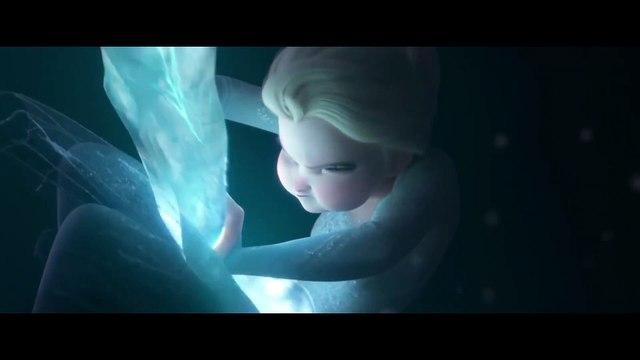 Frozen 2 movie clip - Elsa Tames The Nokk, The Water Spirit