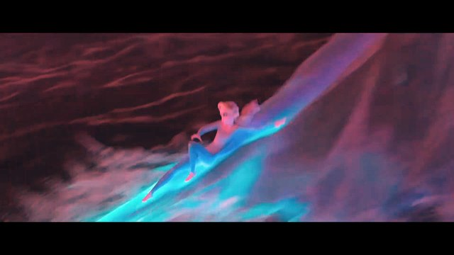 Frozen 2 Film Clip - Elsa vs The Dark Waters