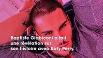 Baptiste Giabiconi révèle avoir mis en scène sa liaison avec Katy Perry