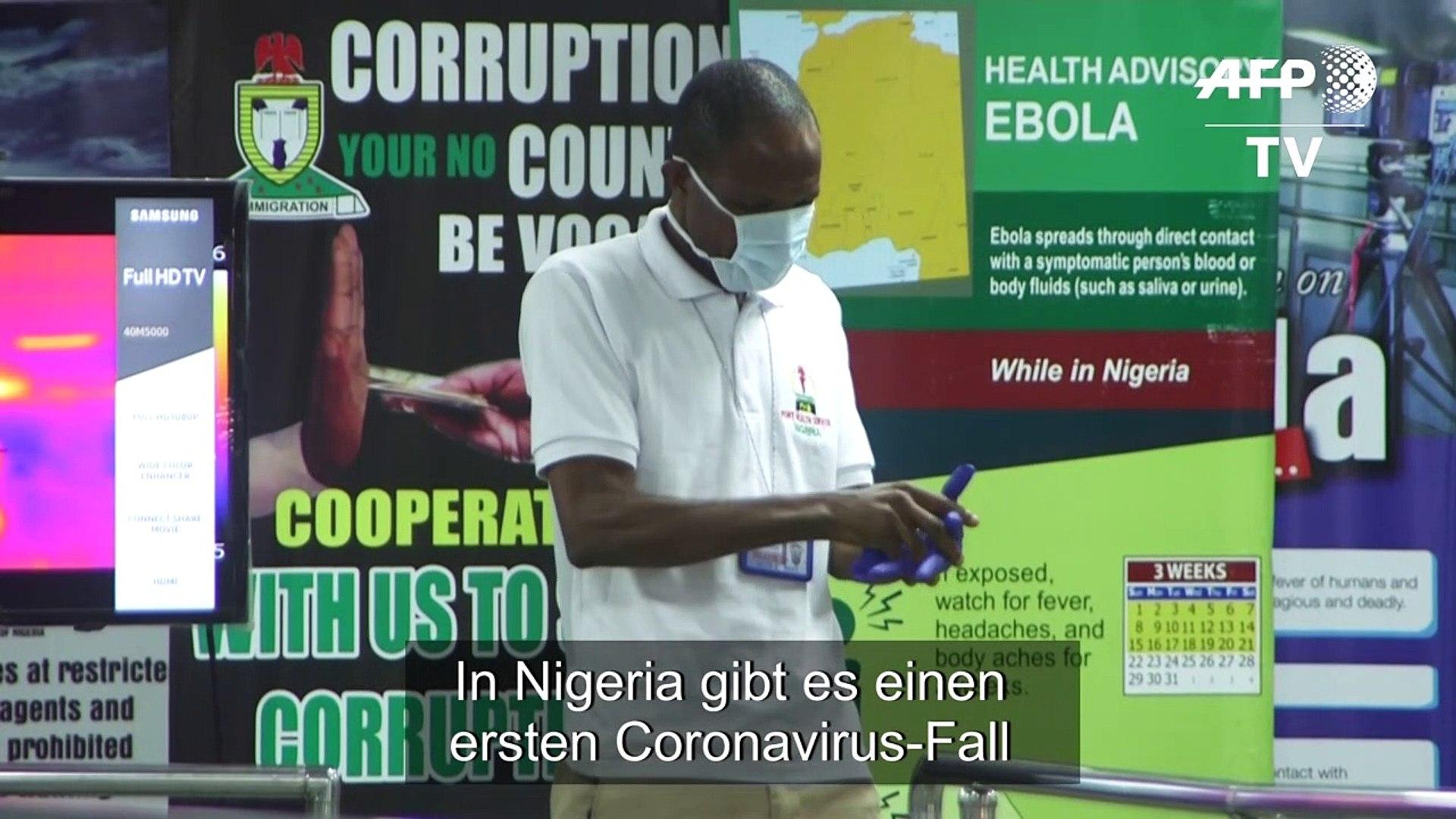 Erster Coronavirus-Fall in Nigeria