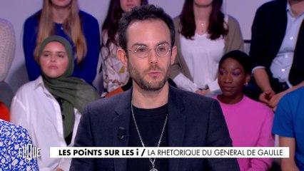 Les points sur les i : la rhétorique du Général De Gaulle - Clique - CANAL+