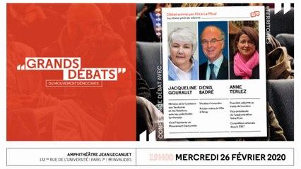 Les Grands Débats - Territoires, avec Jacqueline Gourault - 260220