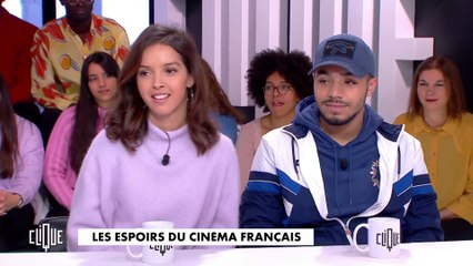 Lyna Khoudri et Liam Pierron : les espoirs du cinéma Français - Clique - CANAL+