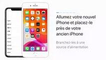 Transférer des données vers un nouvel iPhone - Apple Support