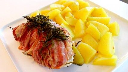 Bimby   Thermomix -  Tacchino porchetta con contorno di patate