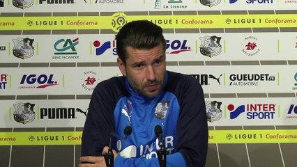 Conférence de presse d'avant Match, ASC - FCM, Luka Elsner