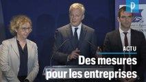 Coronavirus : «Un cas de force majeure pour les entreprises», annonce Bruno Le Maire