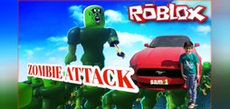 Zombie Attack 2 and Gun Fire every where. in Roblox by SAM SobSamGames