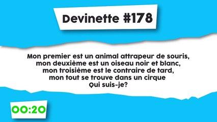 Devinette #178 : Charade
