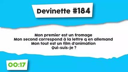 Devinette #184 : Charade