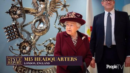 A Look at Queen Elizabeth's Outfit for Her Surprise Visit to MI5