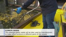 A beer and net is all you need to clean Amsterdam's canals