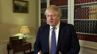 Boris Johnson reassures public following virus death
