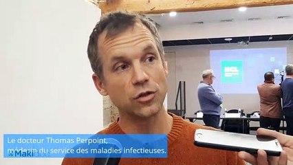 """Nouveau cas de coronavirus à Lyon, les HCL se disent """"rodées"""""""
