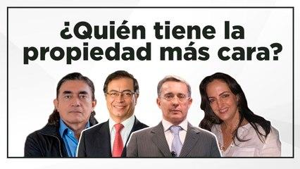 Álvaro Uribe y Gustavo Bolívar, los senadores con más seguidores... y patrimonio en 2018