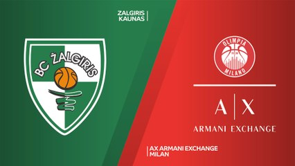 EuroLeague 2019-20 Highlights Regular Season Round 26 video: Zalgiris 105-97 Milan