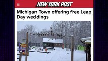 The Late Late Show With James Corden: Free Leap Day Weddings In Hell!