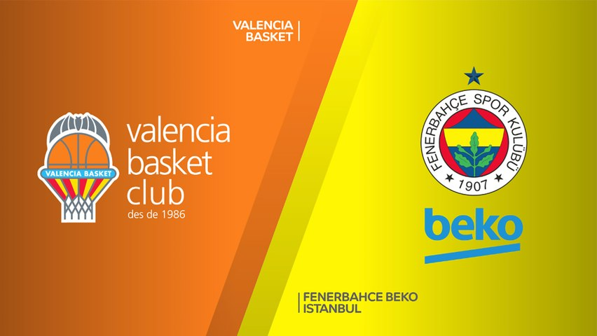 Valencia Basket - Fenerbahce Beko Istanbul Highlights   Turkish Airlines EuroLeague, RS Round 26