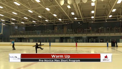 Pre-Novice Men - Short Program - 2020 Calgary Winter Combined Invitational - Rockyview County Arena