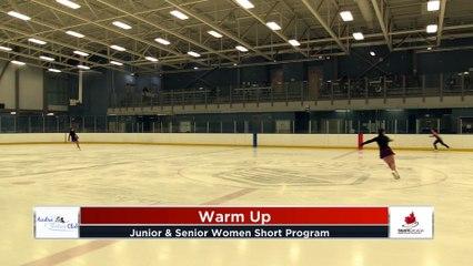 Junior and Senior Women - Short Program - 2020 Calgary Winter Combined Invitational - Rockyview County Arena