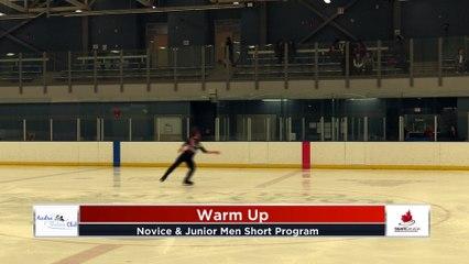 Novice and Junior Men - Short Program - 2020 Calgary Winter Combined Invitational - Rockyview County Arena
