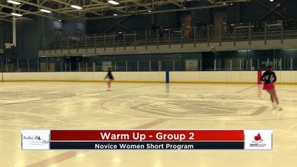 Novice Women Short Program - 2020 Calgary Winter Combined Invitational - Rockyview County Arena