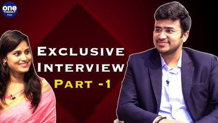 Tejasvi Surya, Oneindia Exclusive Interview Part - 1 | Oneindia Kannada