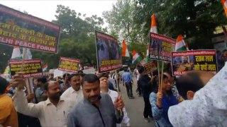 People at Delhi's Jantar Mantar hold solidarity march with victims martyred...