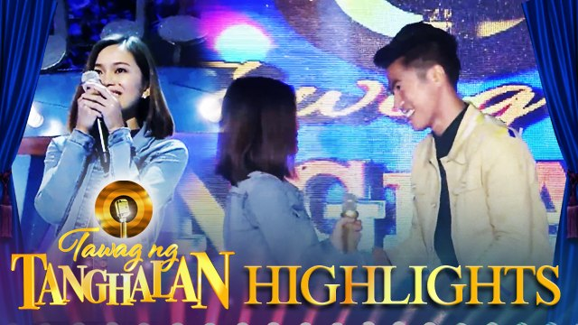 Ann Marie Bastasa steals the golden microphone from John Clemence Ando | Tawag ng Tanghalan
