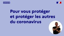 Information coronavirus | Les gestes à adopter