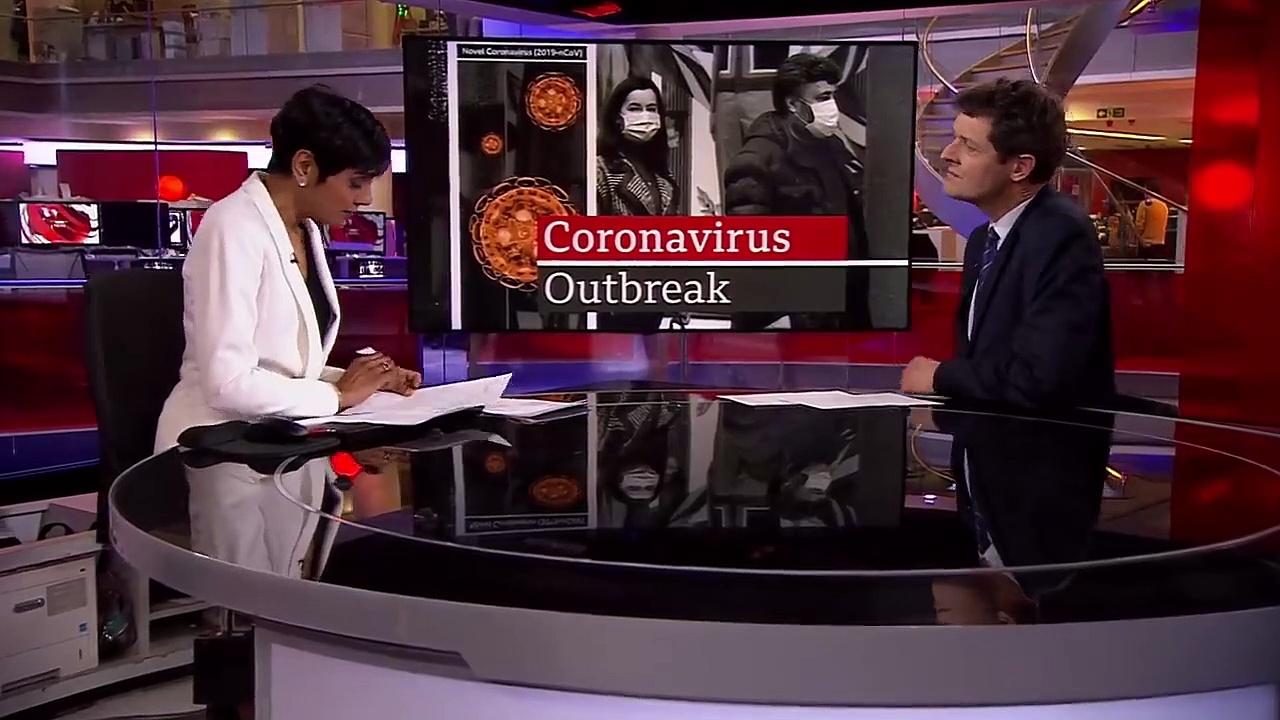 Coronavirus – First British death – BBC News