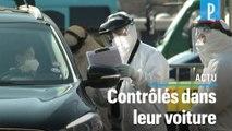Coronavirus : un « drive » pour dépister les Coréens dans leur voiture