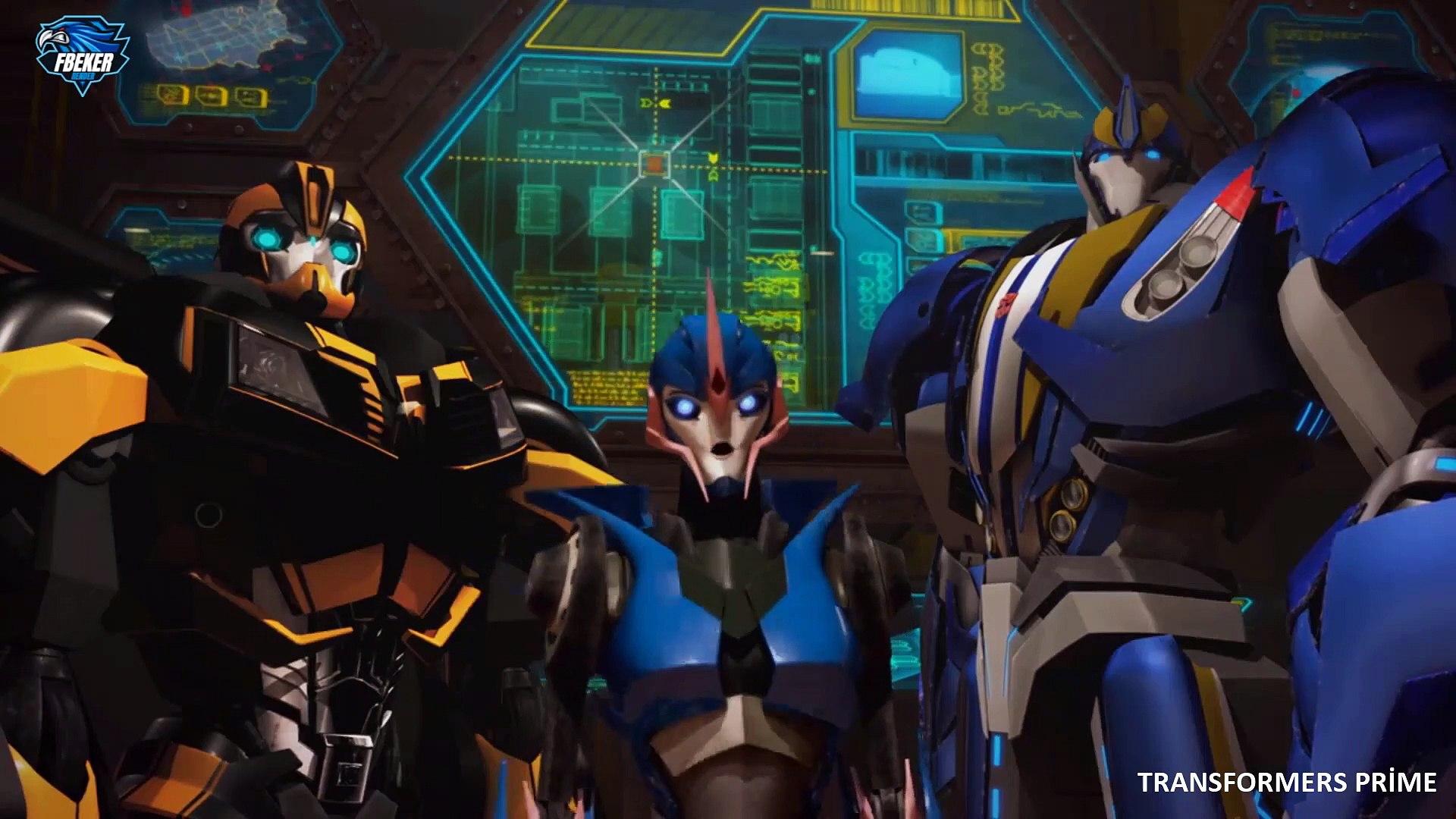 Transformers Prime 61.Bölüm Değişim Full Hd