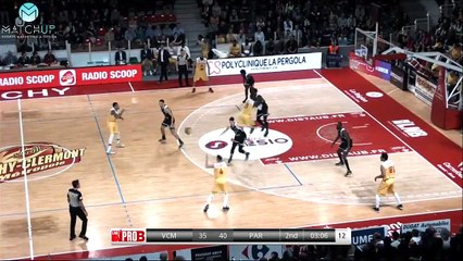 PRO B : Vichy-Clermont vs Paris (J21)