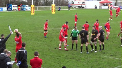 REPLAY GERMANY / SWITZERLAND - RUGBY EUROPE TROPHY 2019 /2020