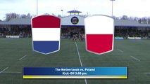 REPLAY NETHERLANDS / POLAND - RUGBY EUROPE TROPHY 2019 /2020