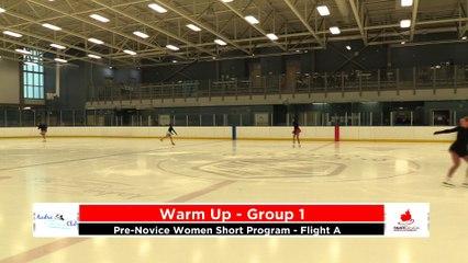 Pre-Novice Women - Short Program - Flight A - 2020 Calgary Winter Combined Invitational - Rockyview County Arena