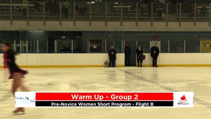 Pre-Novice Women Short Program - Flight B 2020 Calgary Winter Combined Invitational - Rockyview County Arena