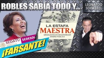 Ex ASF confirma que Rosario Robles estaba advertida de la Estafa Maestra