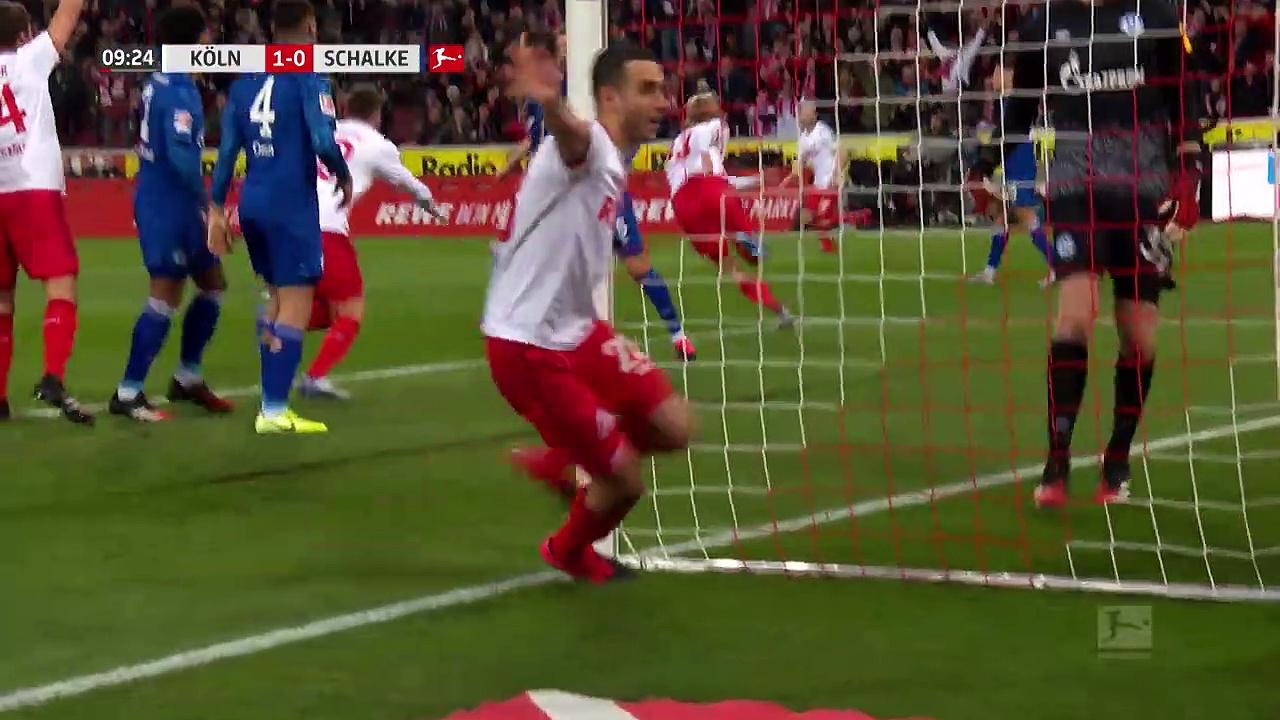 Köln - Schalke 04 (3-0) - Maç Özeti - Bundesliga 2019/20