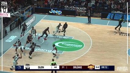 David Holston Points in Dijon vs. Orleans
