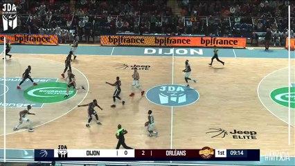 Alexandre Chassang Points, Blocks in Dijon vs. Orleans