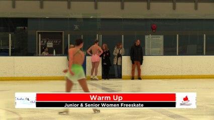 Junior/Senior Women Freeskate - 2020 Calgary Winter Combined Invitational - Rockyview County Arena