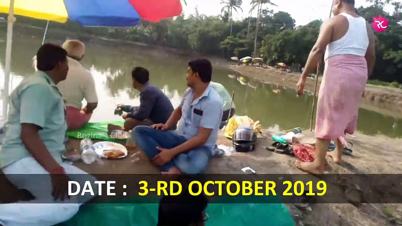 Catla Fishing at Nasibpur Khaldhar Pond | Rozina's Club