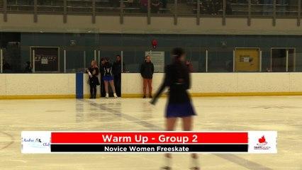 Novice Women Free - 2020 Calgary Winter Combined Invitational - Rockyview County Arena