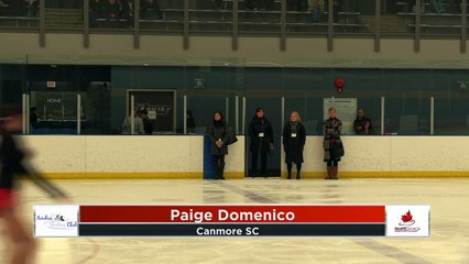 Pre Novice Women FP Flight A 2020 Calgary Winter Combined Invitational - Rockyview County Arena (16)