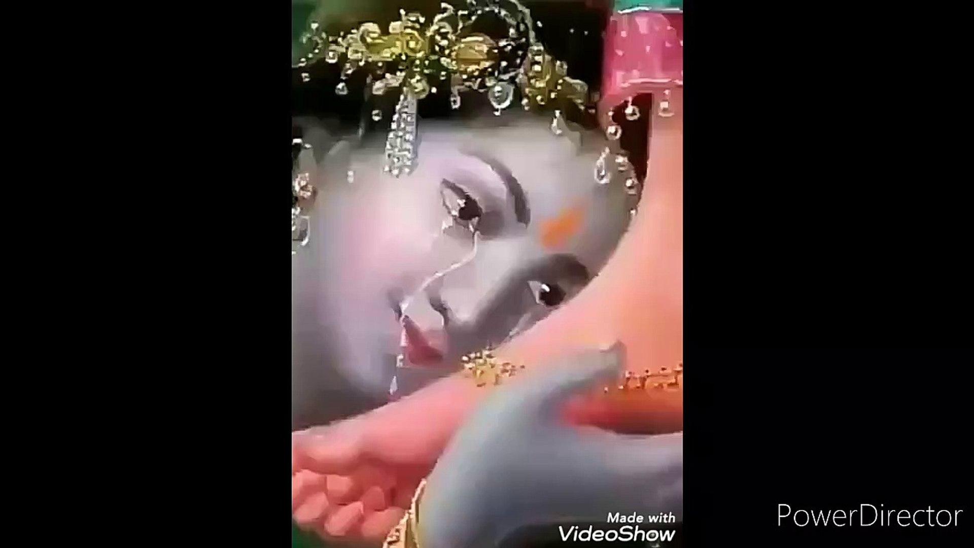KRISHNA WHATSAPP STATUS | KRISHNA STATUS || KHANA BHAKTI STATUS || KITNI DARD BHARI HAI DIL ME KHANA