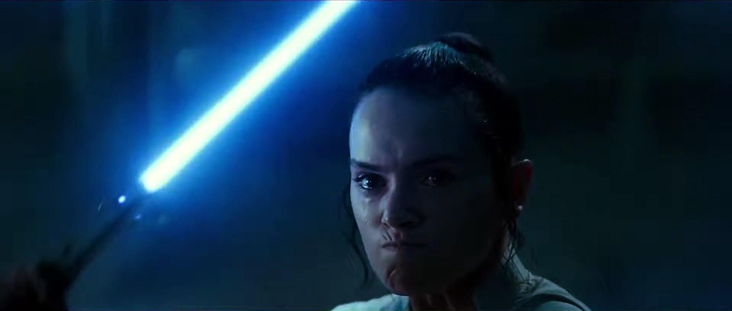 Star Wars The Rise Of Skywalker Movie Clip Rey Kylo Ren Vs Palpatine Fight Video Dailymotion