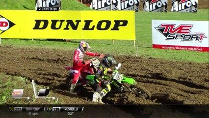 Coldenhoff & Desalle battle + Desalle Crash - Race 1 MXGP of Great Britain 2020 - motocross