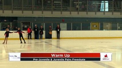 Pre Juvenile / Juvenile Pair Free Program 2020 Calgary Winter Combined Invitational - Rockyview County Arena